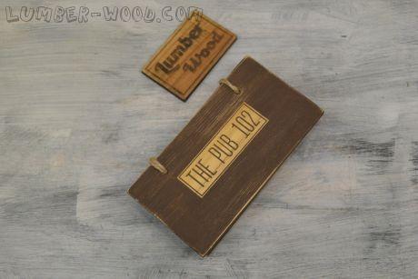 Коробочки для счета состаренные, ящик. арт. 595
