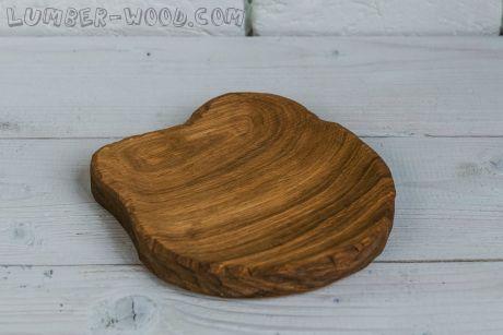 Деревянная тарелка для подачи medium! Необычная серия. арт. 618